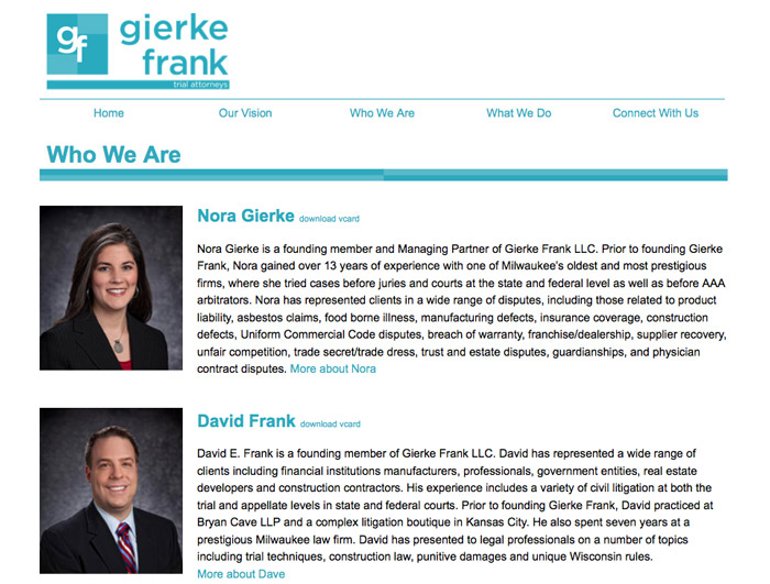 Gierke Frank Trial Attorneys