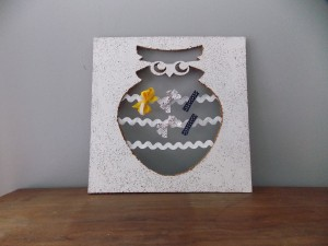 Owl Ribbon Board